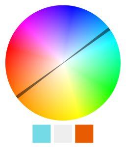 Schemat uzupełniający kolorów